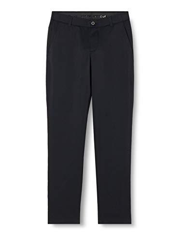 Under Armour UA Showdown Taper, elegante Golfhose mit optimaler Bewegungsfreiheit, komfortable Sporthose mit 4-Pocket Design Herren, Black / Steel Medium Heather / Black , 34/32
