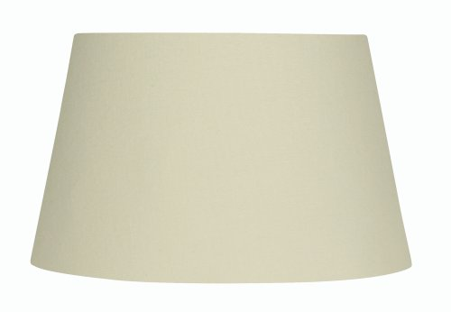 Oaks Lighting - Pantalla cilíndrica para lámpara, algodón, color Beige
