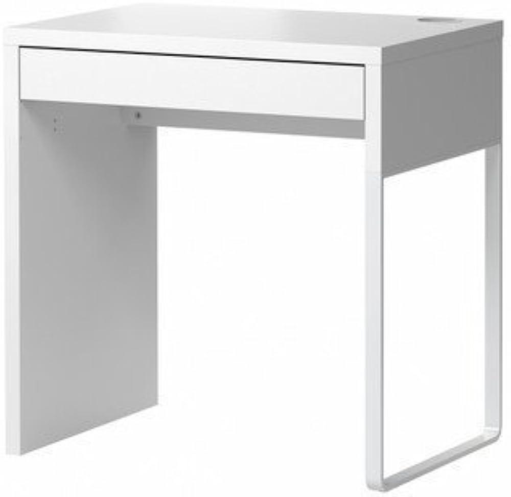 Ikea micke, scrivania, dimensioni: 73 x 50 cm,in fibra di legno e plastica 302-130-76