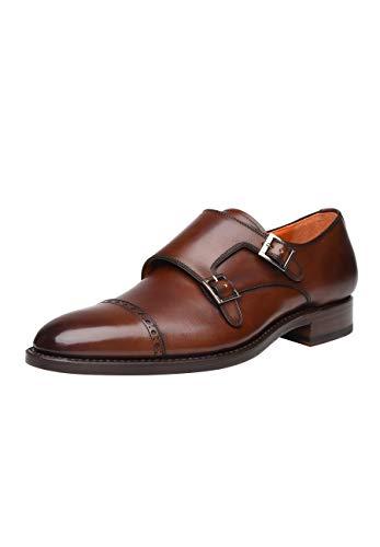 SHOEPASSION - No. 5424 - Schnallenschuhe - Komfortabler Business- oder Freizeitschuh für Herren. Handgefertigt aus feinstem Leder mit einmaliger Patina.