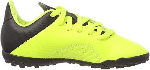 adidas X Tango 18.4 TF J, Botas de fútbol Unisex niño, Multicolor (Amasol/Negbás/Amasol 000), 36 2/3 EU