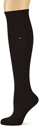 Tommy Hilfiger Damen TH WOMEN 98% COTTON KNEEHIGH 1P Kniestrümpfe, Schwarz (Black 200), 35/38 (Herstellergröße: 35-38)