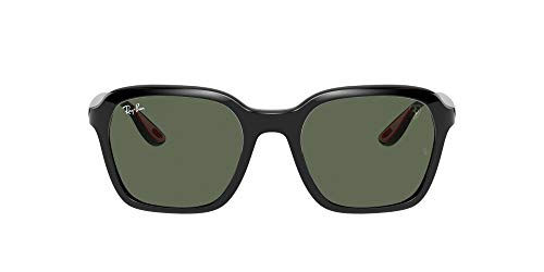 Ray-Ban 0RB4343M Gafas, Black, 52 Unisex