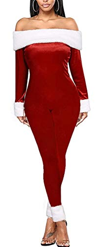 Huyghdfb Women Adult Christmas Fancy Cosplay Costume...