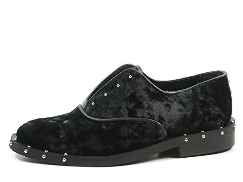 Bronx Bwagonx 65998-D-01 Schuhe Damen Halbschuhe Slipper, Schuhgröße:38;Farbe:Schwarz