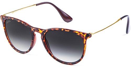 MSTRDS Unisex Jesica Sonnenbrille, Mehrfarbig (Havanna/Grey 5147), (Herstellergröße: one Size)