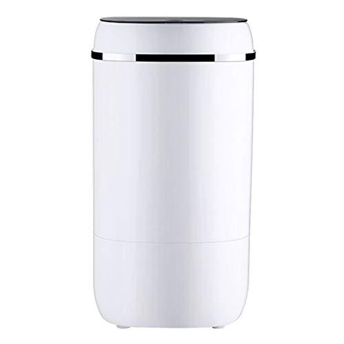 A Washing Machine Lavatrice Semi-Automatica - Lavatrice/Asciugatrice da Banco per Campeggio, Appartamenti O Dormitorio per Studenti 350 * 680 Mm (Bianco)