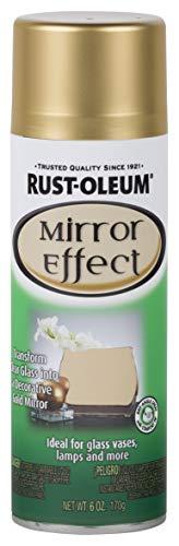 Rust-Oleum 286477 Specialty Spray Paint 6 Oz, Gold Mirror