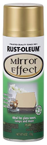 Rust-Oleum 286477 Specialty Spray Paint 6 Oz, Gold Mirror