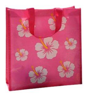 Imagen para Freds Swim Academy - Bolsa de playa (tamaño pequeño), color rosa y blanco
