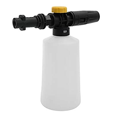 KKmoon Car Soap Snow Foam Lance Karcher 750ML Generator Pressure Washers Accessory with Adjustable Sprayer Jet Nozzle Snow for Karcher K2 K3 K4 K5 K6 K7 from KKmoon