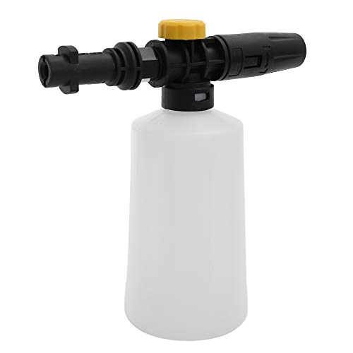 KKmoon Car Soap Snow Foam Lance Karcher 750ML Generator Pressure Washers Accessory with Adjustable Sprayer Jet Nozzle Snow for Karcher K2 K3 K4 K5 K6 K7