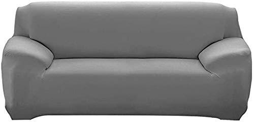 DYWLQ Funda para sofá, Funda para sofá Extensible con reposabrazos Funda para sofá cómoda, Funda para sofá de poliéster Tejido de Spandex Suave Antideslizante, Lavable-A_2_Seater