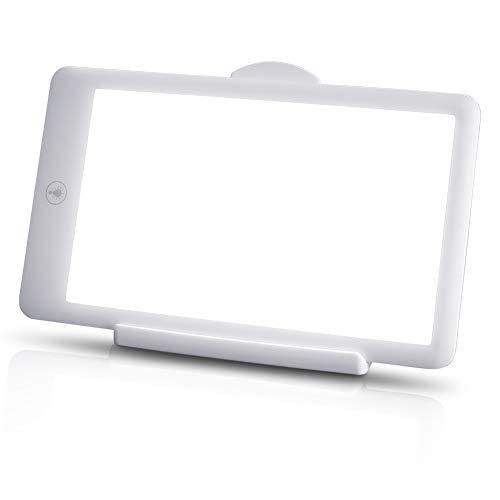 SAD Light, 1Pack 10000-32000 Lux Portable Natural Sunlight Lamp LED Light Box with 3 Adjustable Brightness Levels,Full UV-Free LED Spectrum
