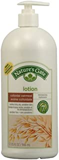 Nature's Gate Lotion, Oatmeal, 32 FZ, 2 Pack