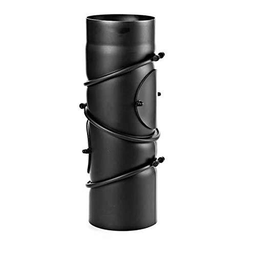 Ø 180 mm - Ofenrohr Multibogen Schwarz
