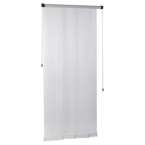 tesa Fliegengitter Lamellentür, Comfort, Farbe: weiß, Größe: 0,95m x 2,20m