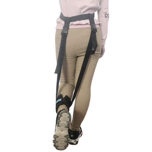 Beinheberriemen, Fußbeine bis zum Knöchelring Heben Sie die Fußriemen an, Mobilitätshub Beinheben-Hilfen für Senioren, Erwachsene, Behinderte, Behindertenheber Fuß mit Handgriff