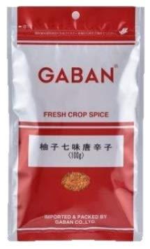 GABAN  柚子七味唐辛子 100g 袋