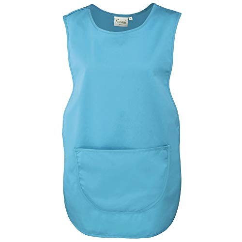 Premier Damen Arbeitsschürze mit Tasche (2 Stück/Packung) (S) (Türkis)