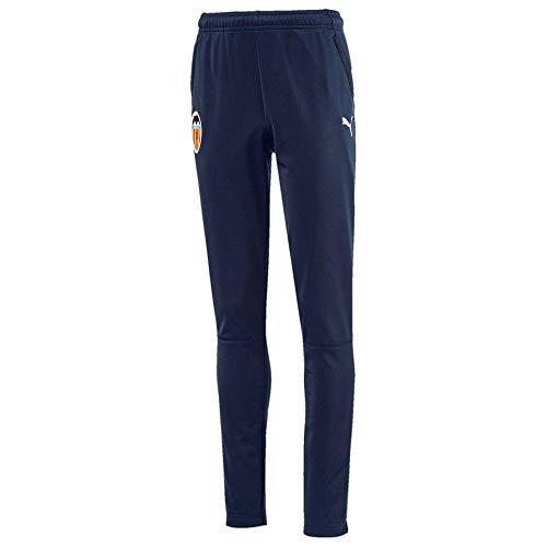PUMA Vcf Training Pants Jr with Zipped Pockets and Calves Chándal, Unisex niños, Peacoat, 152