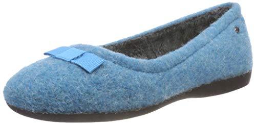 Romika Damen Lucille 01 Niedrige Hausschuhe, Blau (Aqua 590 590), 40 EU
