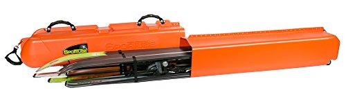 Sportube Series 3 Ski Snowboard Blaze Hard Sided Telescopic Ski and Snowboard Case - Blaze Orange,  37 X 18 X 107 To 183 Cm