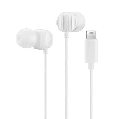 Palovue Lightning Earphones Headphones Iphone 11 Pro Max Earbuds Mfi Certified Compatible Iphone X Xs Max Xr Iphone 8 Plus Iphone 7 Plus With Microphone Controller Morflow White Buy Online In