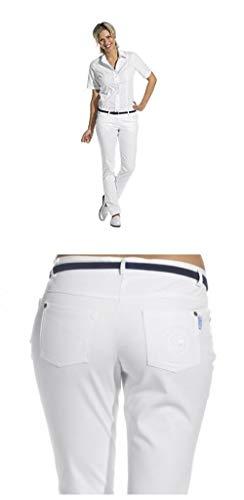 Leiber Damenhose Slim-Style von 08/6840 34 Weiss