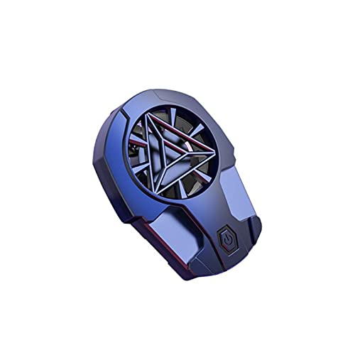 HJTYQS Teléfono móvil Universal USB Game Cooler System Sistema de enfriamiento Gamepad Holder Stand Radiador (Color : 01)