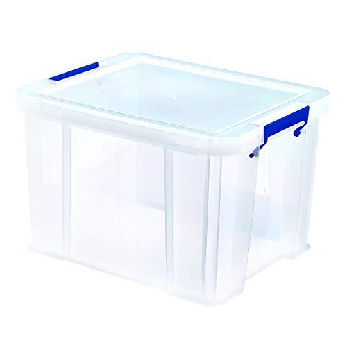 BANKERS BOX ProStore Aufbewahrungsbox mit Deckel 36 Liter aus Plastik (Innenmaße 30 x 37 x 31cm), 1 Stück