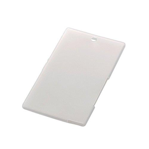 【2014年モデル】ELECOM SONY Xperia Z3 Tablet Compact シリコンケース クリア TB-SOZ3ASCCR