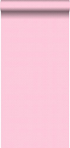 behang kleine stipjes babyroze - 137312 - van ESTAhome