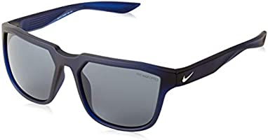 NIKE Men's Fly EV0927 Sunglasses, (Matte OBS/Gold with/Dark Gry), 57.0