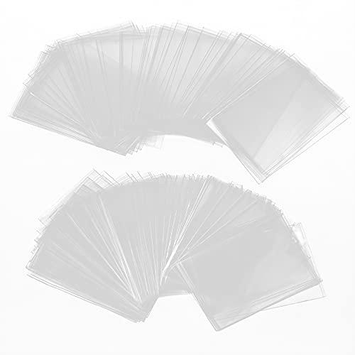 300pcs Buste termoretraibili, Sacchetti Termoretraibili in PVC per Confezione Regalo Progetti Fai Da Te Fatti in Casa Bombe da Bagno Saponi(12 x 15 cm)