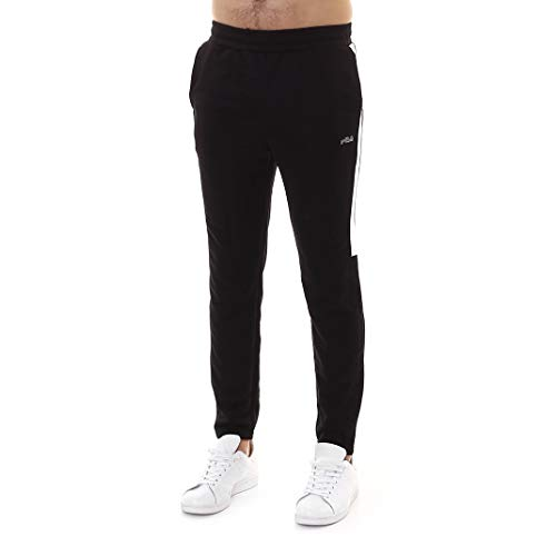 Broek - Fila heren trainingspak zwart slim fit - maat XL