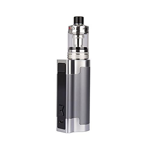 As.pire Zelos 3 Kit (Gunmetal) 80 W TC, kit di svapo per sigaretta elettronica dotato di atomizzatore da serbatoio Nautilus 3 da 4 ml, alimentato da batteria integrata da...