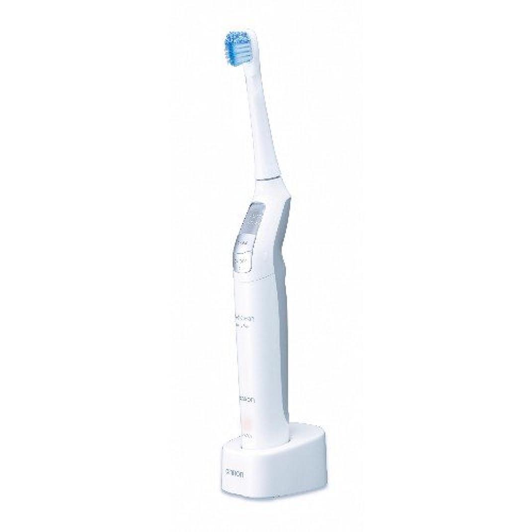 抵当バン寝室オムロン 音波式電動歯ブラシ メディクリーン HT-B550