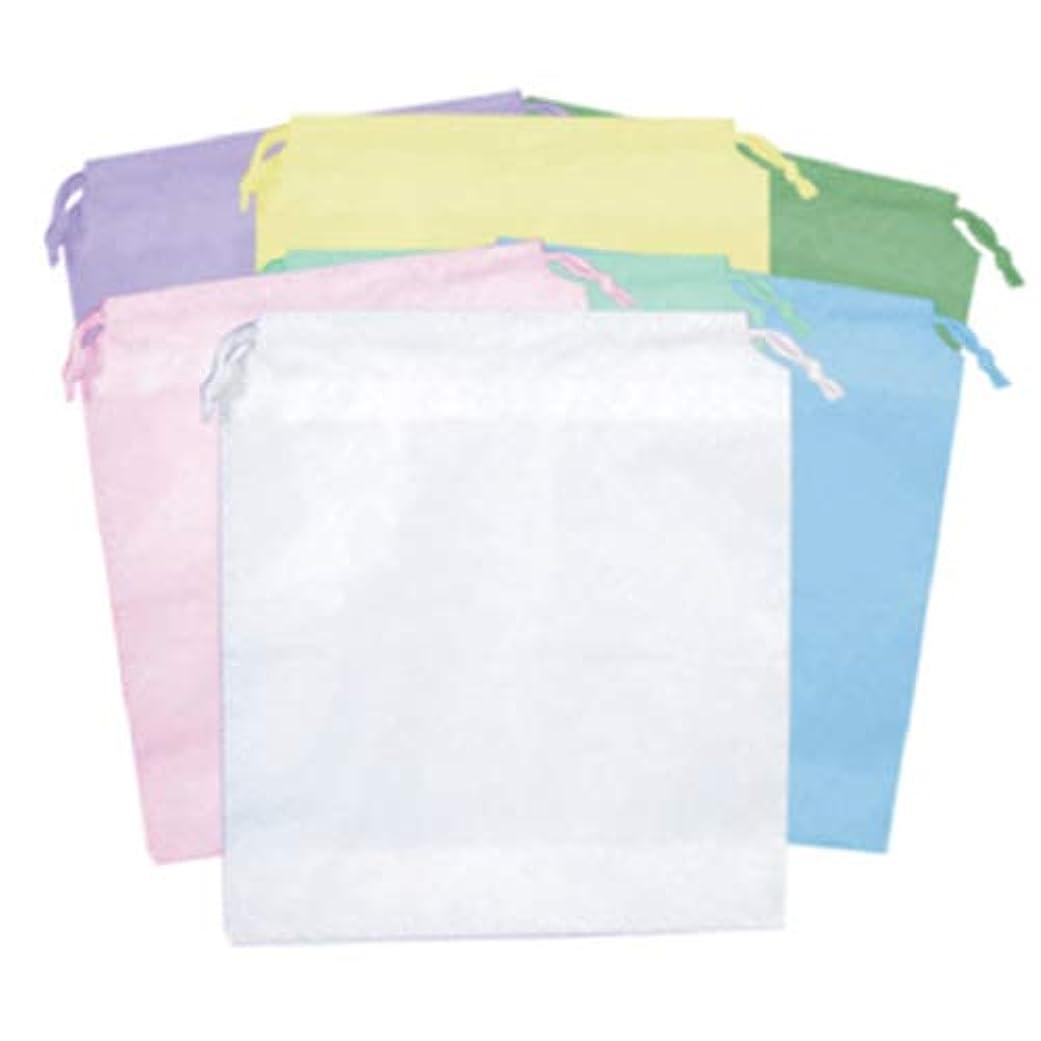 ひも付きポーチ(大)10枚入り ビニール巾着袋│化粧ポーチ 小物入れ アメニティ 試供品 サンプル