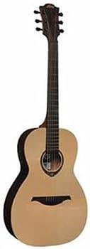 Lag Tramontane T270PE Parlor Satin Acoustic Electric Guitar