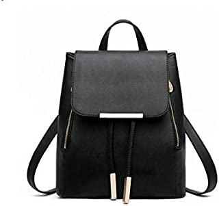 Girl Leather Casual Cool Travel Double Shoulder Backpacks Daypack Bag