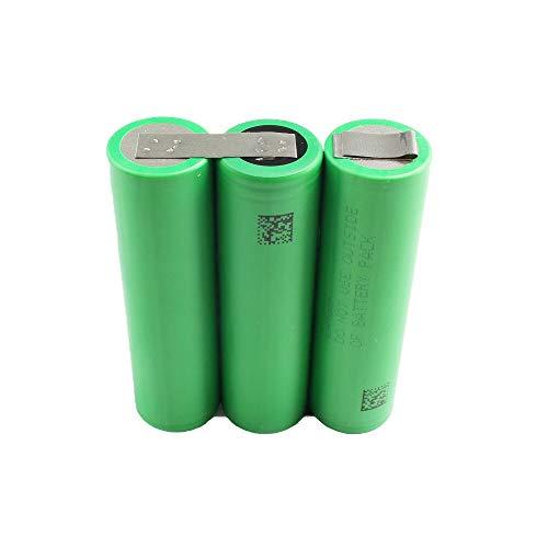 Bosch ASB, KEO, AGS 10,8 V, batteria di ricambio agli ioni di litio con celle Sony 2,6 Ah