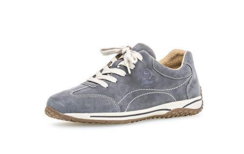 Gabor Damen Halbschuhe, Frauen Sneaker,Moderate Mehrweite (G),weiblich,Lady,Ladies,Women's,Woman,schnürschuhe,schnürer,River,40 EU / 6.5 UK