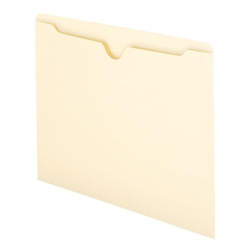 Smead File Jacket, Flat-No Expansion, Letter Size, Manila, 100 per Box (75410)
