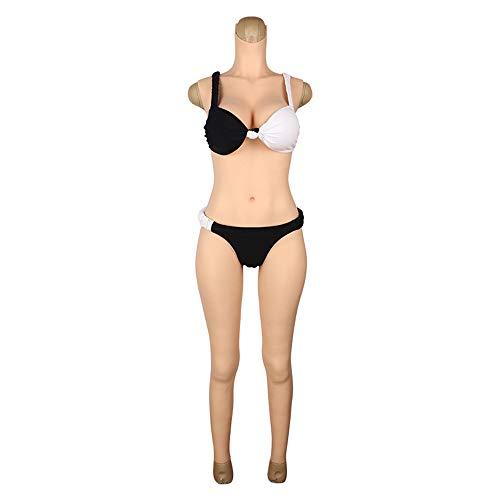 D Cup Gefälschte Brüste Silikonbrüste Mit Armen Ganzkörperanzüge Für Crossdresser Transgender Body Suit Bodysuit