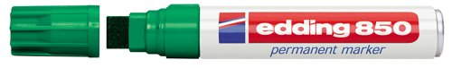 edding 4-850004 Permanentmarker 850, nachfüllbar, 5 - 16 mm, grün