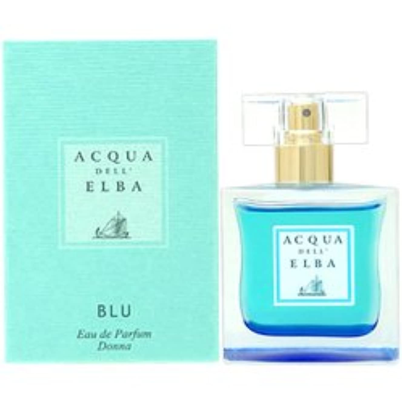 汚れる億香り【アクアデルエルバ】ブルー ウーマン EDP SP 50ml【オードパルファム】BLU [並行輸入品]