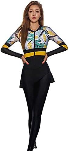 Wetsuit Women's Split-Type New product!! Diving Suit Super sale 2 Set Chest Piece with of