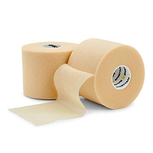 SPORTTAPE Pre-cinta de espuma suave 7cm x 27mm - Preenvoltura - Envoltura de espuma protectora no adhesiva - único