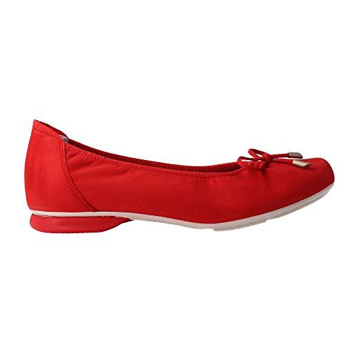 SABRINAS 80000 - MANOLETINA Nobuck Rojo para Mujer